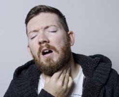 喉の違和感