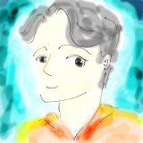 【プロフィール画像】フリーアプリ「Photo Scape」で水彩画のお絵かき風に描いてみたよ