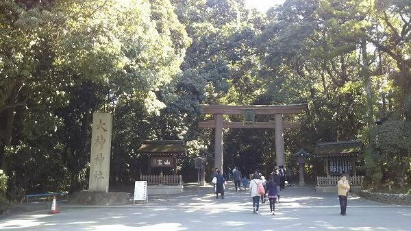 大神神社の二の鳥居