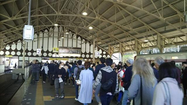 近鉄吉野駅ホーム