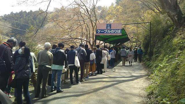 吉野山ロープウェイ乗り場