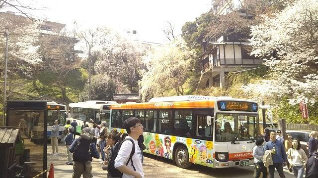 吉野山 中千本公園バス停